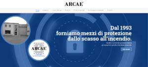 Arcae sito web
